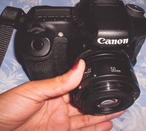 Como controlar o foco usando a lente invertida