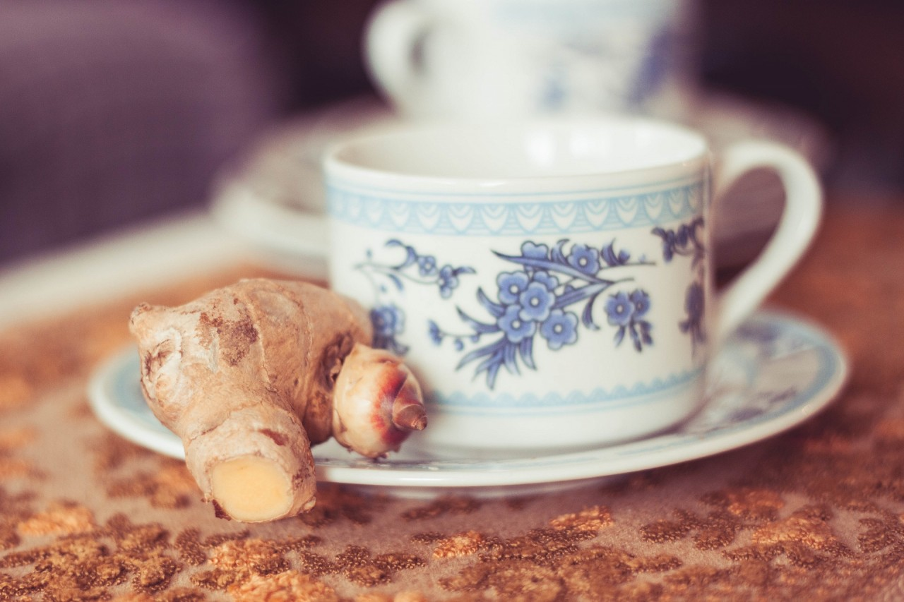 Propriedades medicinais do chá de gengibre, Chá de gengibre para a perda de peso, Chá de gengibre com alho