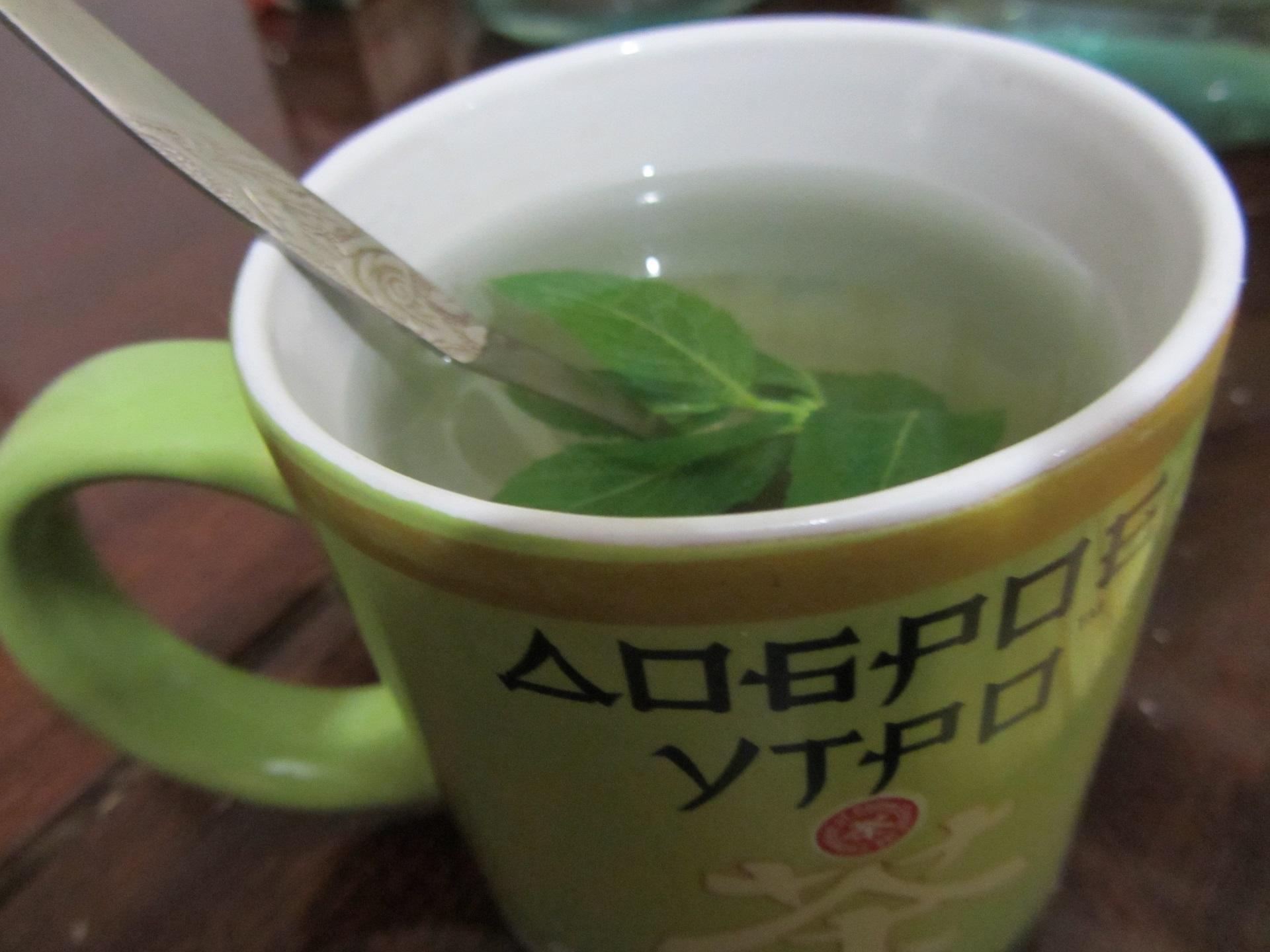 Tea-with-mint