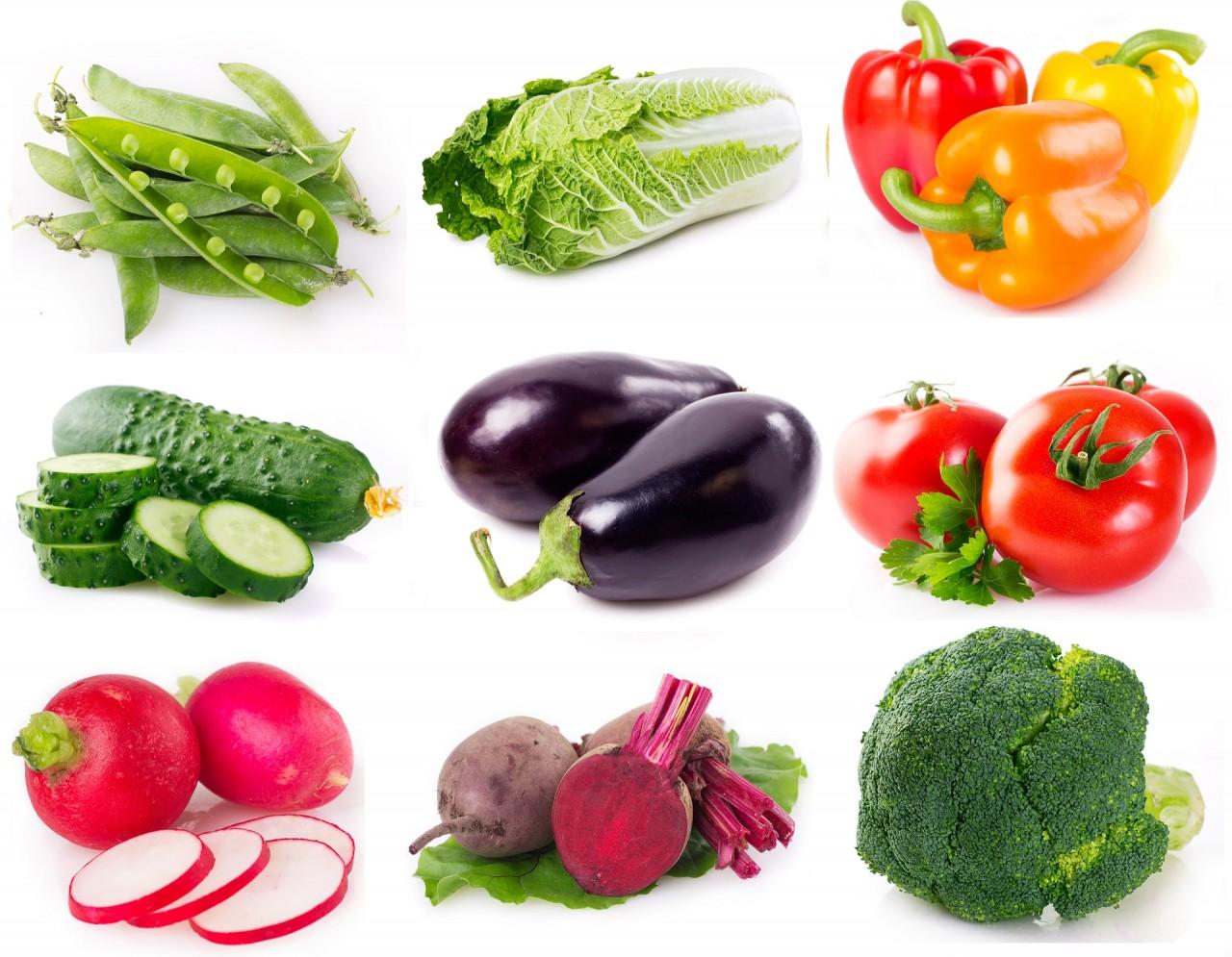 Os benefícios das fibras nos vegetais, Lista de vegetais de mais baixa caloria, Uso de vegetais de baixa caloria e bagas