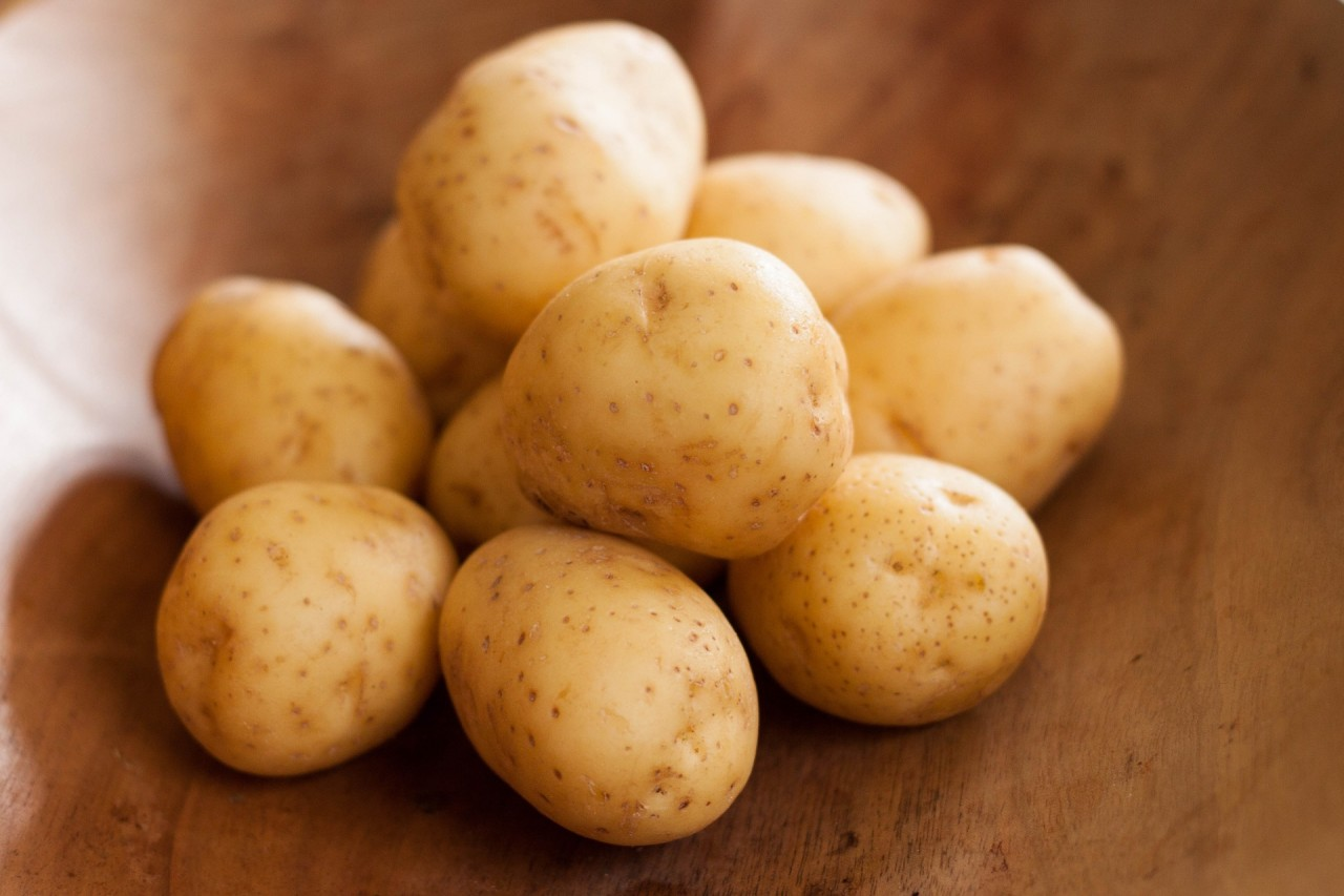 Batata como um remédio na medicina tradicional, Benefícios da casca da batata, Benefícios da fécula de batata