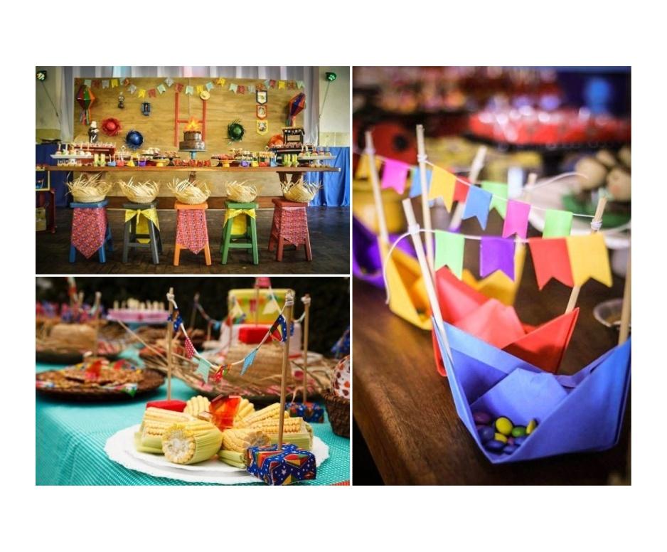 Decoração para festa junina, Quadrilha de festa junina