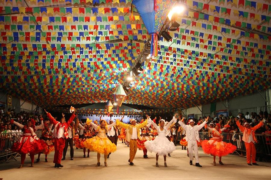 Abertura do São João 2011 no Pelourinho, com concurso de quadrilhas juninas, shows de Gilberto Gil e Targino Gondin. Foto: Mateus Pereira/Secom