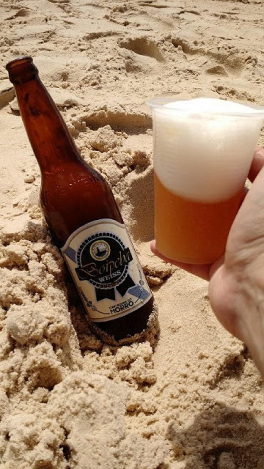 Cerveja artesanal de Morro de Sao Paulo Bahia