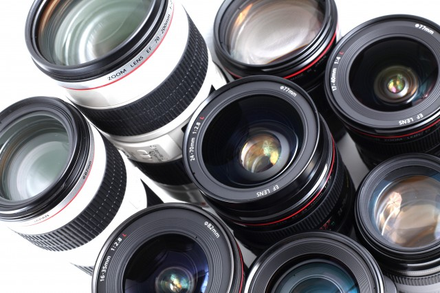 Lenses (Modern hi-end professional photographic equipment - lens