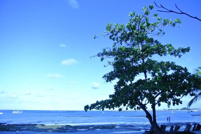 Vista da terceira praia, mais isolada