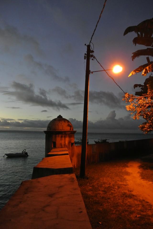 Caminho natural pra Pulsar Disco e o Forte do Morro