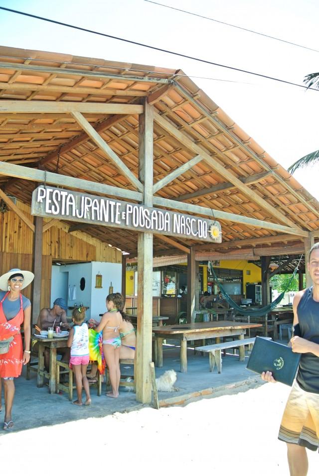 Restaurante Pousada Nascer do Sol em Boca da Barra - Norte Ilha de Boipeba