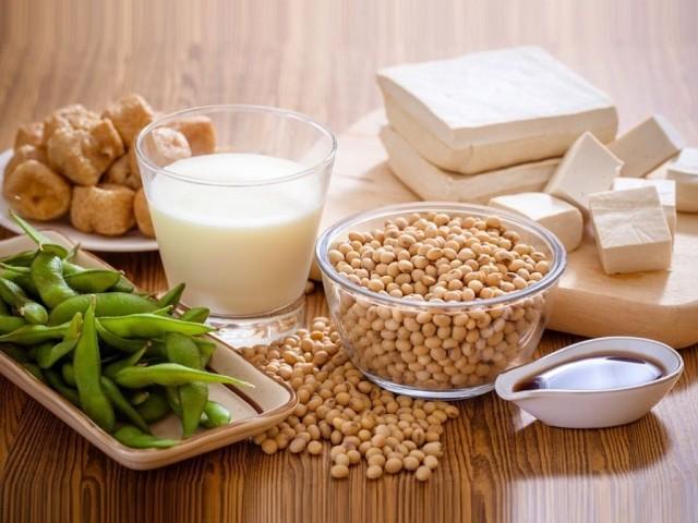 Molho de Soja, Leite de Soja, Queijo Tofu, Yuba, Farinha de Soja, Óleo de Soja, Missô, Natto, Sementes de Soja