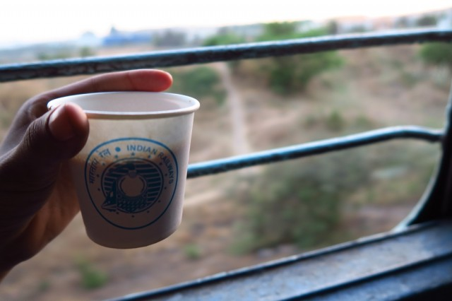 Trem indiano, chai masala